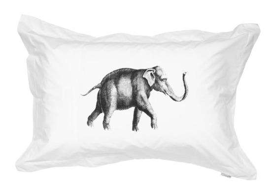 Vintage inspired elephant pillowcase | Gorgi