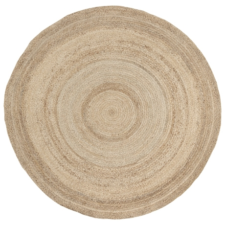 Madras-Round-Floor-Rug-250cm-Natural