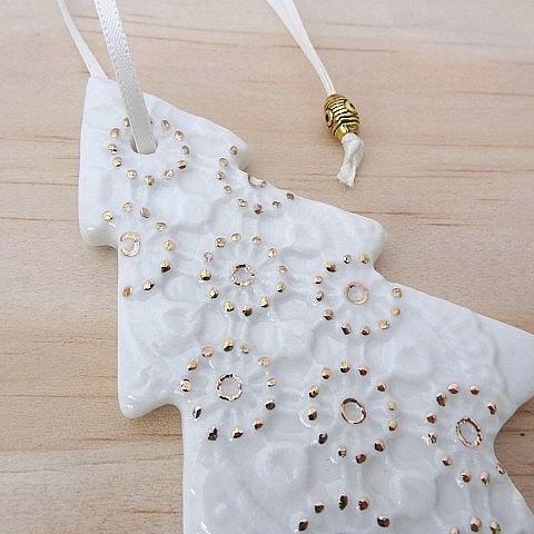 Handmade ornaments | Springwood Porcelain