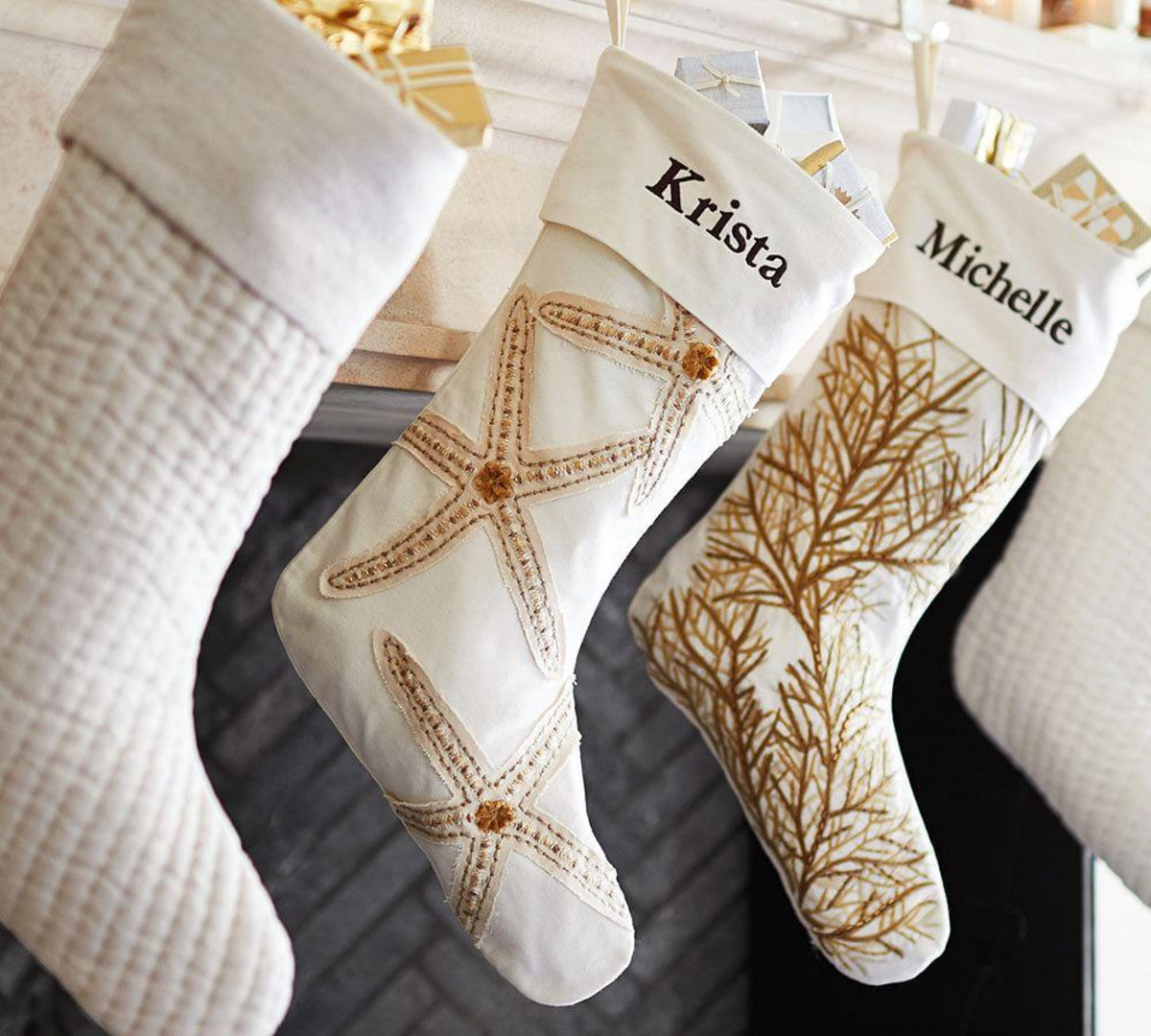 Coastal Starfish Stocking | Pottery Barn