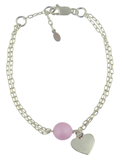Pearls of Love double chain bracelet   Mad Alice Jewellery