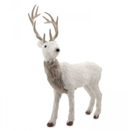 Reindeer standing in white | Alfresco Emporium
