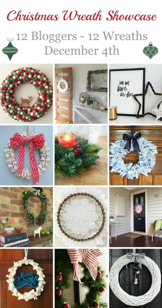 Christmas Wreath Showcase Collage