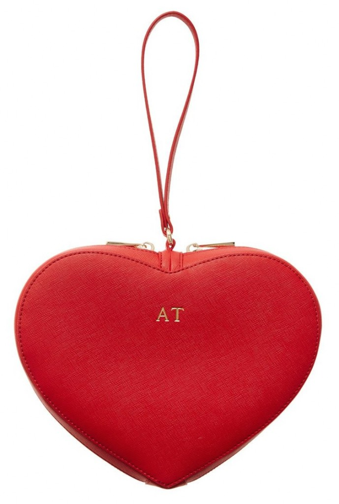 Red Heart Clutch | The Daily Edited