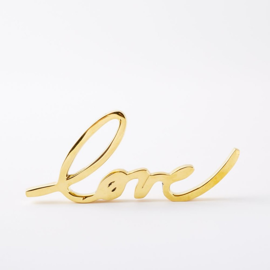 Brass Love Object | West Elm