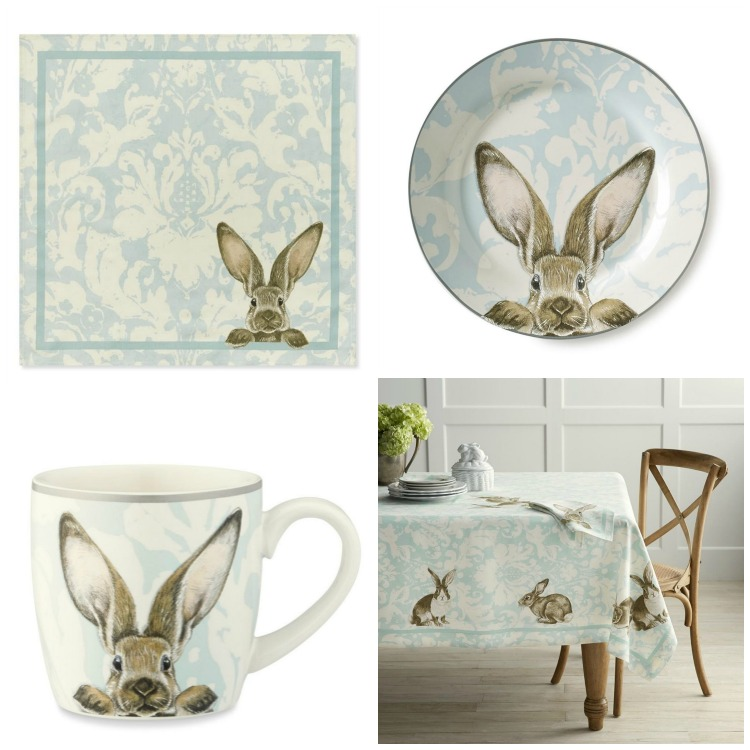 Damask Easter Bunny Range | Williams-Sonoma