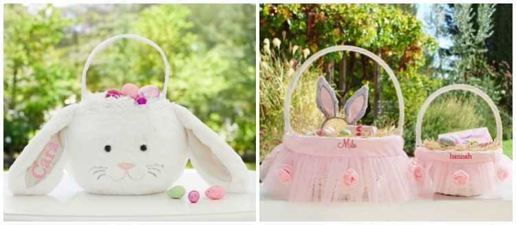 Girls Easter baskets | Pottery Barn Kids