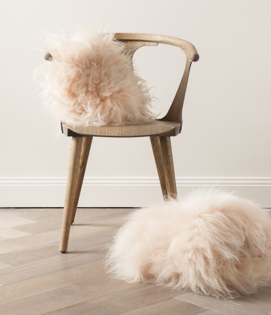 Blush Icelandic Sheepskin Cushions | Society of Wanderers