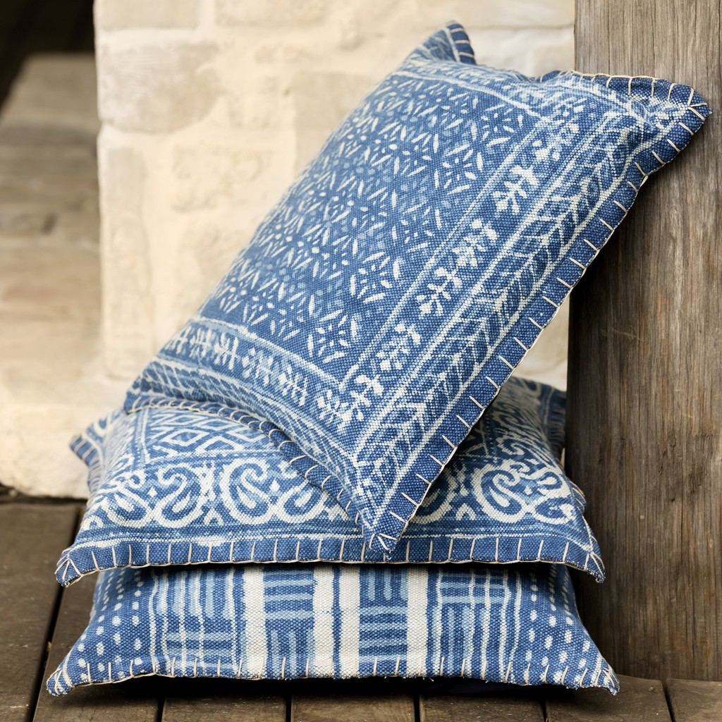 Sea, Salt and Tide cushions   Linen & Moore