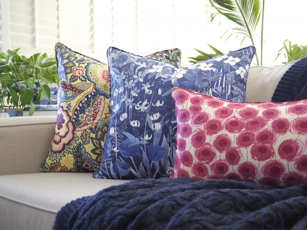 Liberty cushions | Ava & Neve Collective