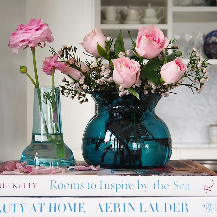 THE SOURCE Teal and Blue Vases