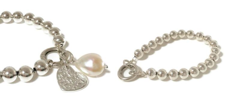 Silver droplets bracelet | Coastalstyle Australia