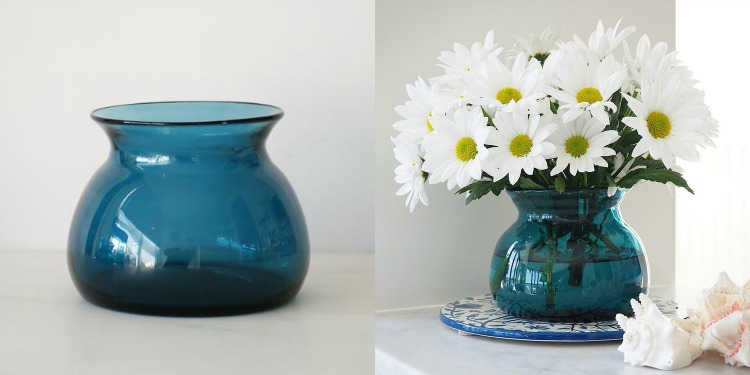 Teal Posy Vase | The Source Products
