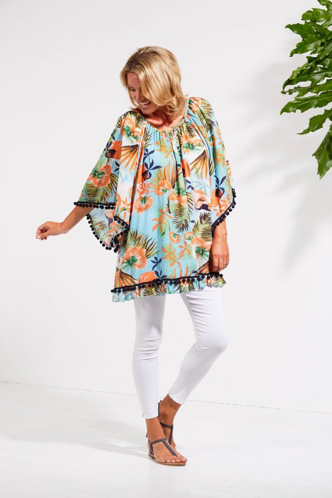 Tropicana kaftan | Haven