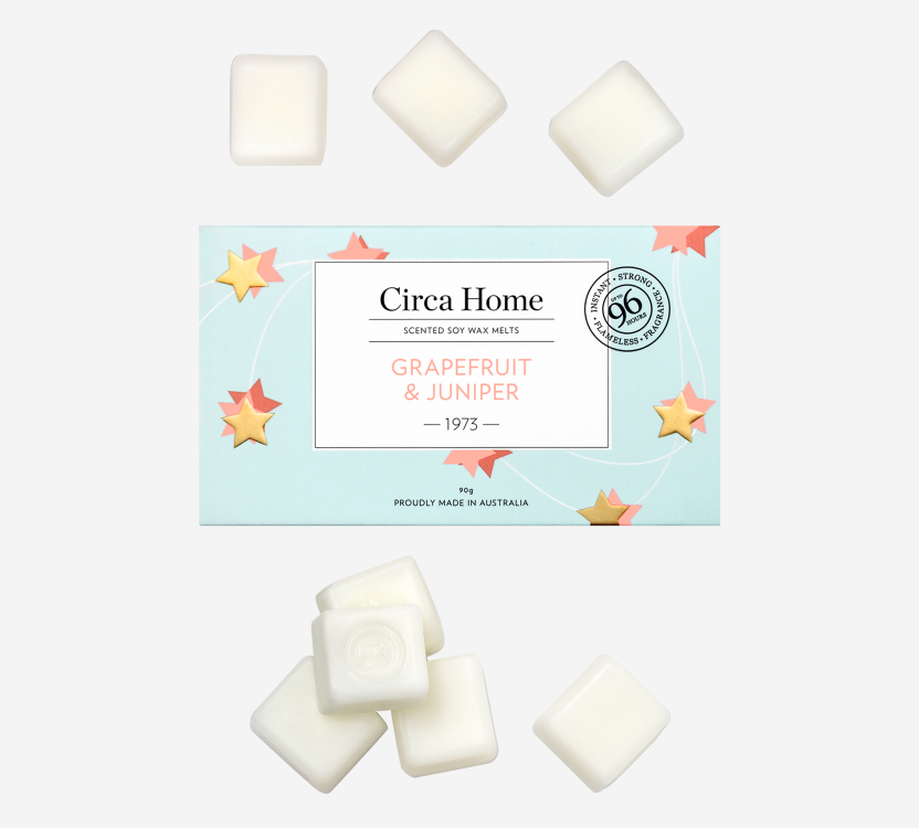 Grapefruit and Juniper Wax melts | Circa Home