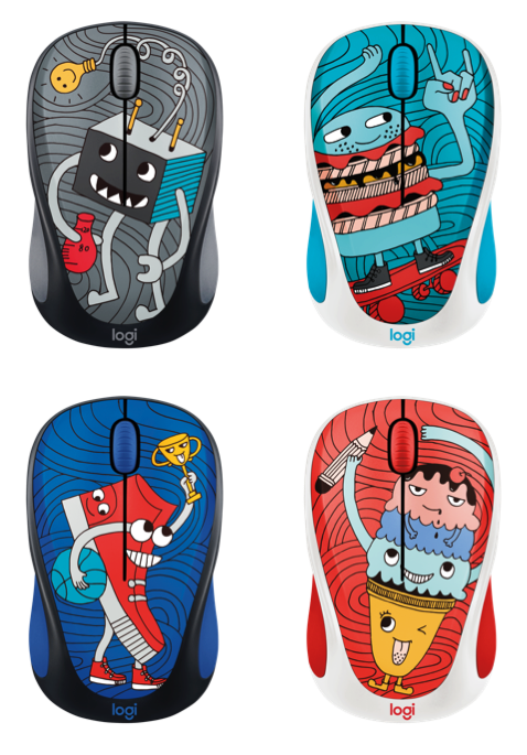 DOODLE COLLECTION MOUSE / LOGITECH