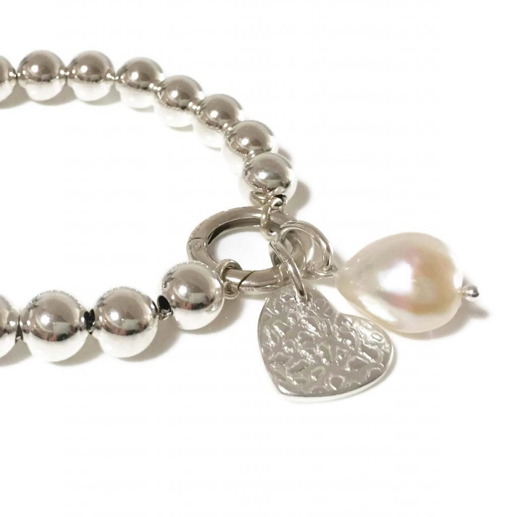 Silver Droplets bracelets with charms | Coastalstyle Australia
