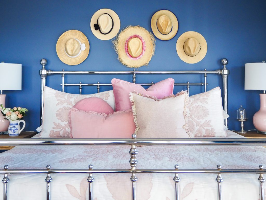 Project: Pop Of Pink bedroom @mumlittleloves